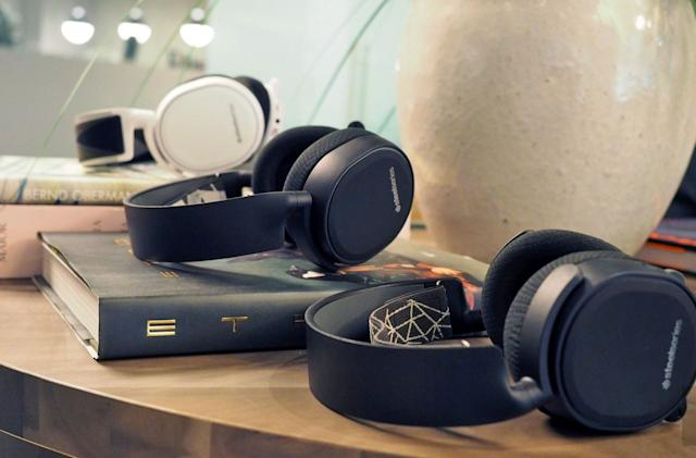 SteelSeries keeps it classy with its new gaming headsets