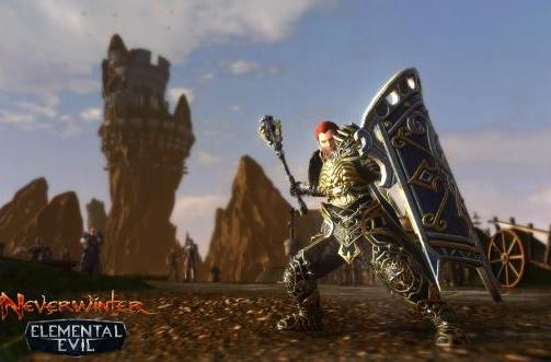 Neverwinter: Elemental Evil bringing the Paladin, higher level cap