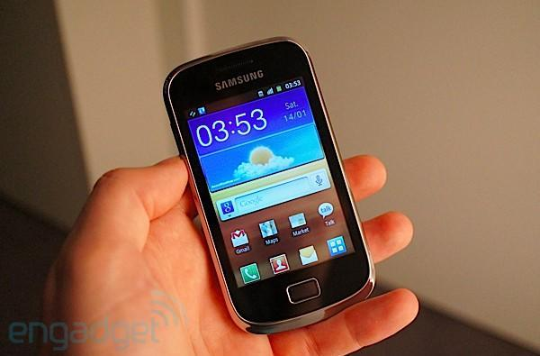 Samsung Galaxy Mini 2 hands-on (video)