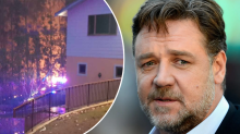 Russell Crowe's property ravaged by bushfires