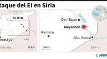 Mueren en Siria 26 combatientes pro-régimen y nueve rusos en ataque del EI
