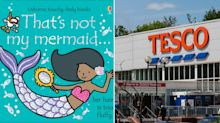Tesco stops selling 'racist' mermaid T-shirt and children's book featuring same design will be pulped