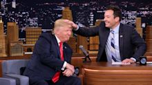 President Trump Slams Jimmy Fallon for Expressing Regret Over 2016 Interview: 'Be A Man Jimmy!'