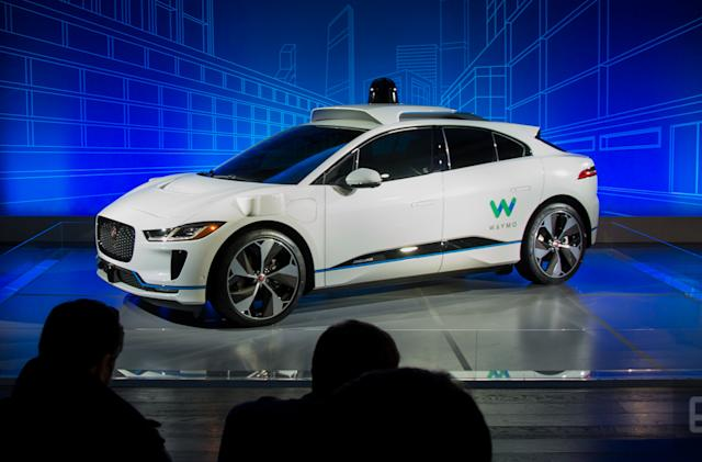 Waymo and Jaguar will test self-driving I-Pace SUVs later this year
