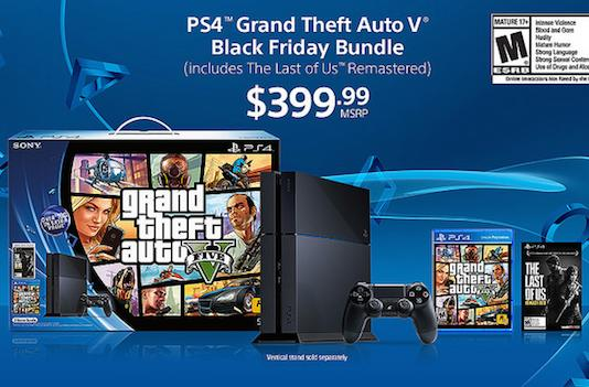 Sony celebrates Black Friday with GTA5, Batman PS4 bundles