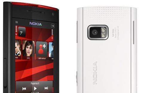 Nokia X6 Comes with Music and capacitive touchscreen: shipping now