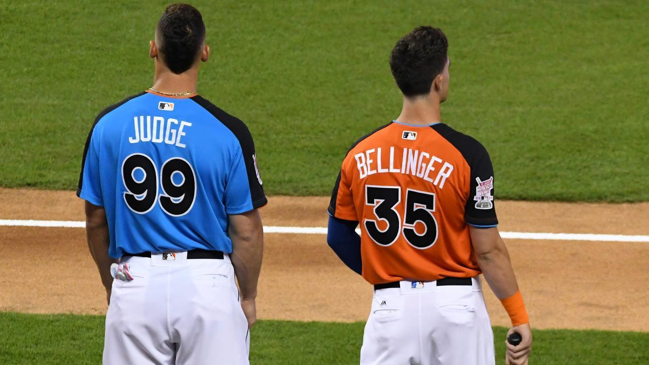 Aaron Judge Cody Bellinger Win Rookie of the Year Awards