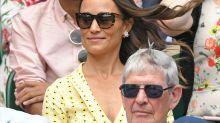 Vorsicht, Windstoß! Pippa Middleton zeigt in ihrem Kleid fast zu viel