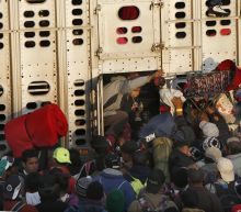 Migrant caravan moves on western Mexico city of Guadalajara