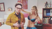 Kaley Cuoco delights fans with lingerie pic from 'Big Bang Theory' set: 'Ab goals!!'