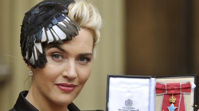 Kate Winslet receives royal honor