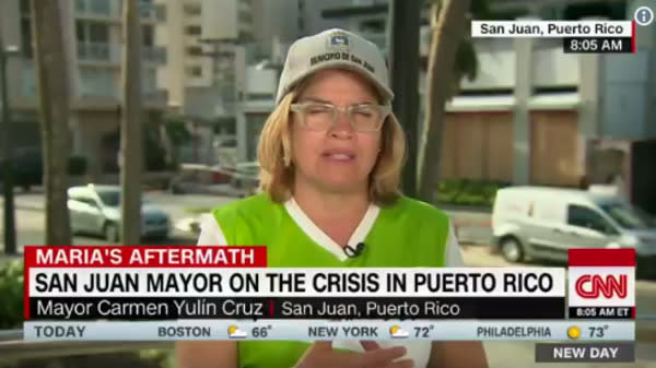 San Juan Mayor Fumes After Top Trump Official Calls Puerto Rico Response A 'Good News Story'