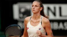 Defending champion Pliskova into Italian Open final