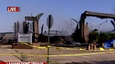 Presbyterian Church In Perry Destroyed By Fire