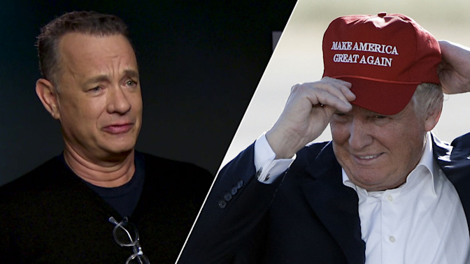 Hanks on who's making movies for Trump voters