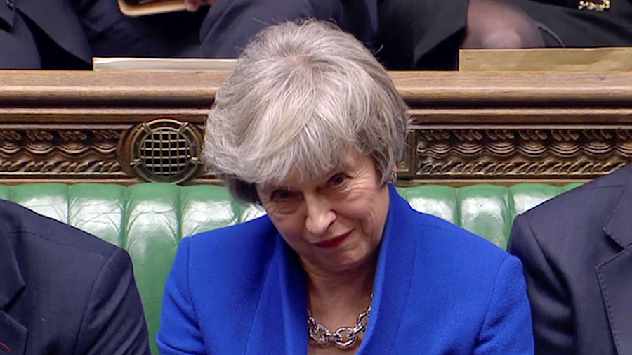 May survives no confidence vote after Brexit defeat