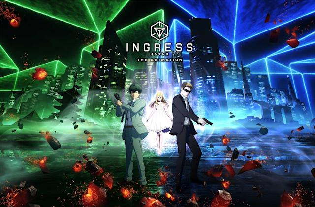 An 'Ingress' anime series is coming to Netflix