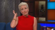 While playing a character based on Hillary Clinton, Emma Thompson turned down Donald Trump