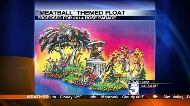 Glendale Wants Rose Parade Float to Honor `Meatball` the Bear