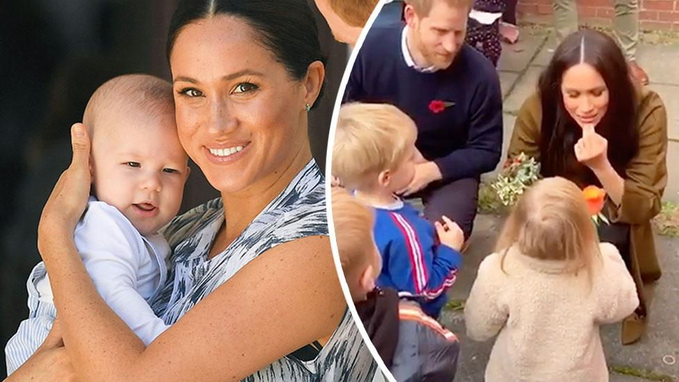 Baby Archie has two 'tiny' teeth reveals proud mum Meghan