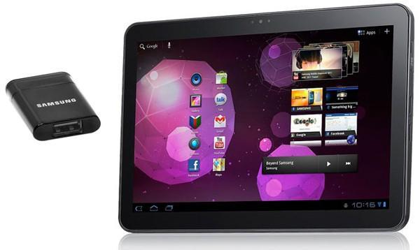 Silhouette-spoiling USB host adapter arrives for the Galaxy Tab 10.1