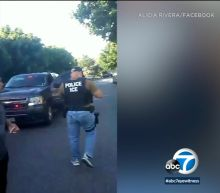 VIDEO: Mother of 2 taken into custody by ICE in Los Angeles as neighbor tries to intervene