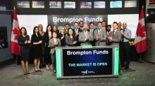 Brompton Funds Opens the Market
