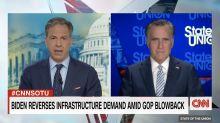 Sen. Mitt Romney says he trusts Biden on infrastructure reversal