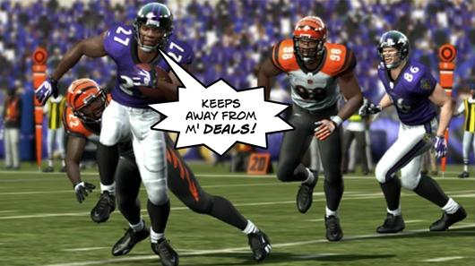 Get Madden 11 without sacks (of cash) today on Amazon