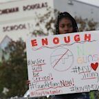 Florida Students March To Stoneman Douglas High To Show Solidarity Over School Shooting