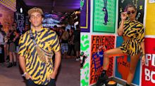 Conjunto com estampa 'tiger', queridinho dos famosos no Lollapalooza, custa R$ 500