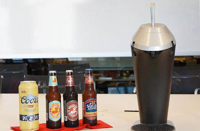 Fizzics countertop 'draught' system makes bad beer good