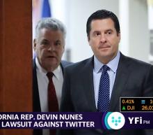 Rep. Devin Nunes is filing a lawsuit against Twitter