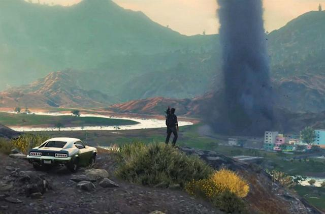 'Just Cause 4' parachutes in December 4th