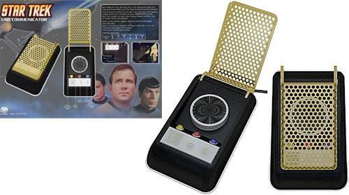 Video: Star Trek USB Communicator because you're out of your Vulcan mind