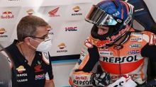 """Honda MotoGP bike """"out of control"""" and """"radical"""" in qualifying - Marquez"""
