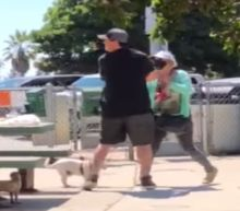Woman caught on video macing couple for not wearing masks in park