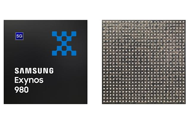 Samsung's Exynos 980 chip is a processor and 5G modem in one