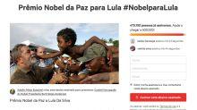 Abaixo-assinado quer colocar Lula como indicado ao Nobel da Paz