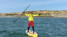 P&G manager to paddleboard 57 miles nonstop