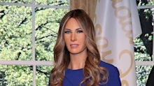 Melania Trump got her own wax figure, and Twitter is having a field day