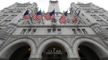 Trump using Trump hotel to hold Trump re-election fundraiser