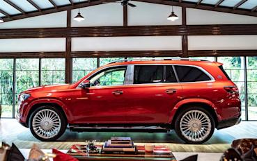 Mercedes-Maybach GLS 600 4MATIC 陸行豪華飛船