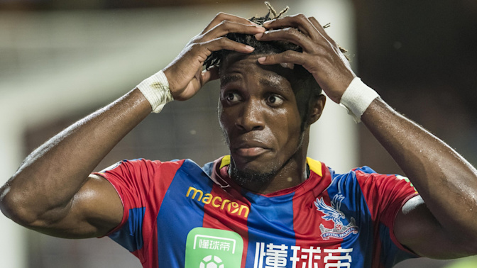 Zaha 'racially abused by Manchester United and Liverpool fans'