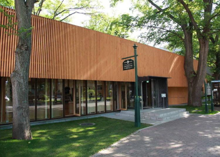 ▲諮詢中心「榆樹森林(エルムの森)」/照片提供:北海道大學