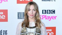 Jodie Comer and Stephen Graham celebrate virtual TV Baftas in their back gardens