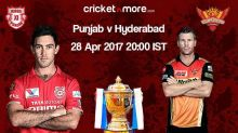 IPL 10: Sunrisers Hyderabad look to consolidate against Kings XI Punjab