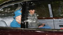 Kate Middleton Has a Golden Glow Attending Church With the Queen in Scotland