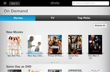 Comcast lights up AnyPlay for in-home live TV iPad streaming, Xoom support 'coming soon'