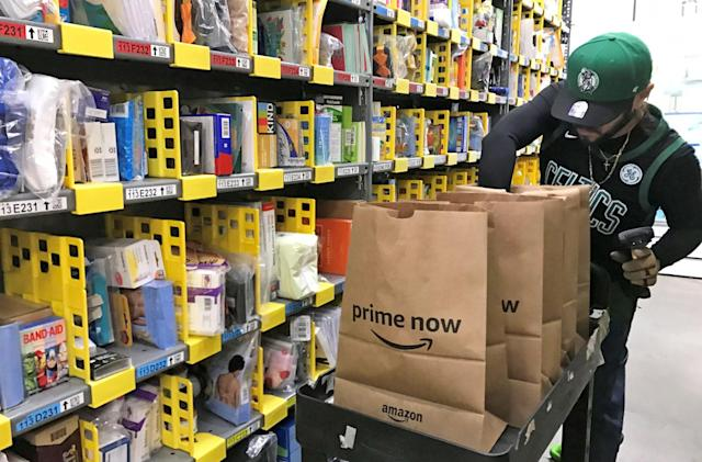 Amazon shipped over 5 billion items with Prime in 2017